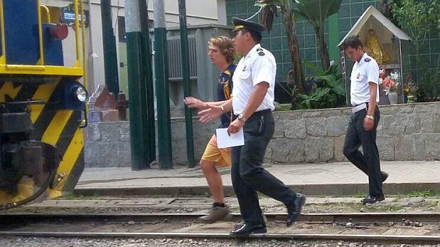 Turista es detenido por fotografiarse desnudo en Machu Picchu