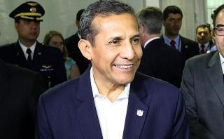 Aprobación de Ollanta Humala sube un punto, según Datum