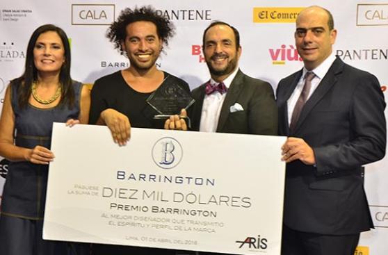 LIF Week 2016: Omar Valladolid ganó el Premio Barrington