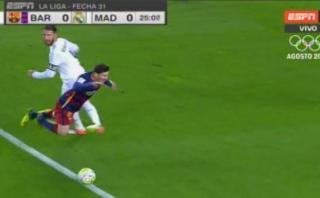 Decisión del árbitro en acción de Messi que indignó al Camp Nou