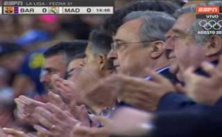 Barza-Real Madrid: Camp Nou ovacionó a Cruyff en el minuto 14