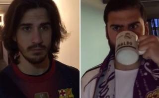 ¿Podría un hincha del Real Madrid recibir a uno del Barcelona?