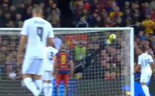 La espectacular atajada de Keylor Navas a Lionel Messi [VIDEO]