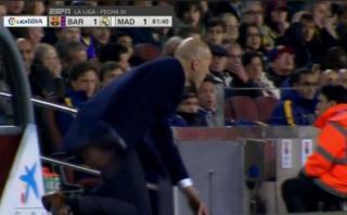 La curiosa reacción de Zidane tras remate de Cristiano Ronaldo