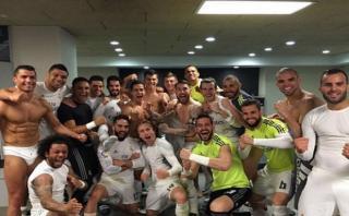 Real Madrid celebró la victoria ante el Barcelona en Facebook