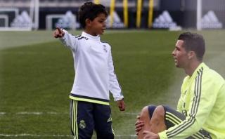 Cristiano Ronaldo y su hijo: mira su mensaje en Instagram