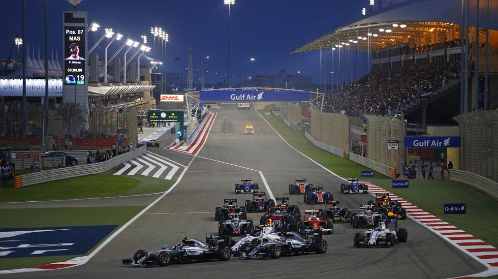 Nico Rosberg consiguió su segundo triunfo consecutivo en el GP de Bahréin, segunda fecha de la Fórmula 1. (foto: Dppi)