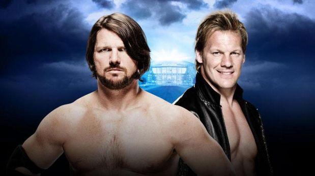 WWE Wrestlemania tiene una de sus peleas más técnicas en el combate que enfrenta a AJ STyles y Chris Jericho.
