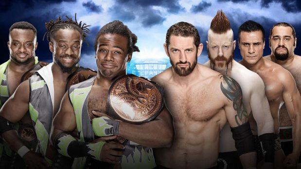 New Day enfrenta a The League of Nations en WWE Wrestlemania 32. (WWE)