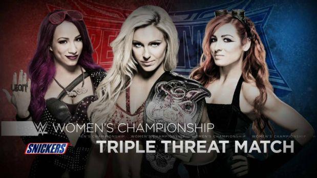Las Divas estrenan nuevo campeonato en WWE Wrestlemania. ¿Quién se lo llevará en esta triple amenaza?