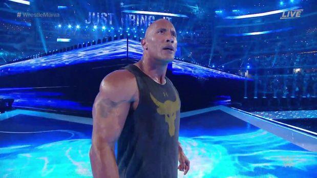 The Rock reapareció en Wrestlemania electrizando, una vez más, a toda la WWE.