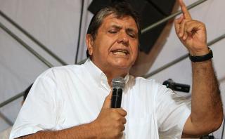 Alan García plantea hacer modificaciones a la Constitución