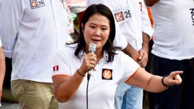 """Keiko Fujimori sobre autogolpe: """"He ido moderando mi mensaje"""""""