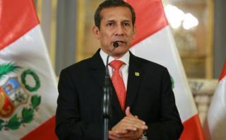 Humala pide a candidatos no participar en marcha contra Keiko
