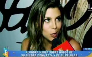 Alondra García Miró descarta fin de romance con Paolo Guerrero