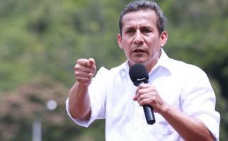 Humala: Estado Peruano responde a instituciones, no a personas