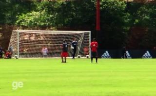 Paolo Guerrero y su falta de gol: desafió al golero de Flamengo