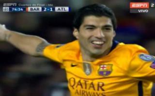 Barcelona dio vuelta al marcador con doblete de Luis Suárez
