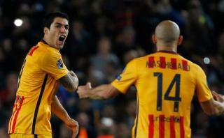 Barcelona ganó 2-1 al Atlético Madrid con doblete de Suárez