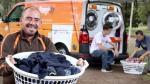 Una lavandería móvil ayuda a personas sin hogar [VIDEO] - Noticias de orange sky