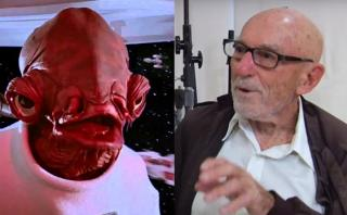 """""""Star Wars:"""" falleció actor que dio voz al almirante Ackbar"""