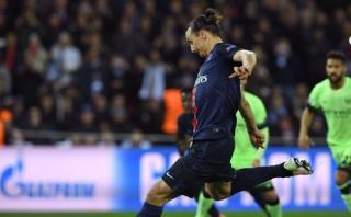 Champions League: mira el penal fallado por Zlatan ante el City