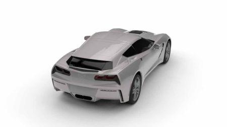 El pack AeroWagon le dará más espacio para sacrificará la aerodinámica del Corvette. (Fotos: Difusión)