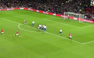 Cristiano y gol de tiro libre elogiado en la Premier League