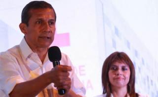 """Humala: """"No estoy en campaña, estoy en plena faena del trabajo"""""""