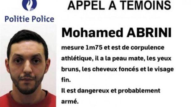 Mohamed Abrini, sospechoso de los atentados en París, fue detenido en Bélgica. (Foto: Policia de Bélgica)