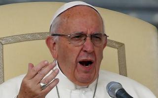 Papa Francisco rechaza con firmeza los matrimonios gay
