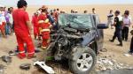 Choque frontal de camionetas dejó 2 muertos y 11 heridos - Noticias de wilfredo sandoval