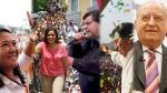 Cinco candidatos presidenciales cerraron sus campañas en Lima - Noticias de ricardo belmont