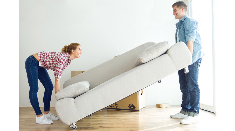 [Foto] Tips para que mudarse en pareja no sea un dolor de cabeza