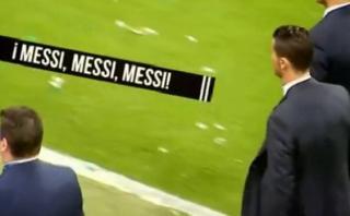 """¿Qué hizo Cristiano cuando le gritaron """"Messi"""" en Alemania?"""