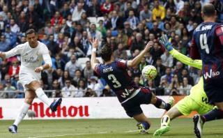 Cristiano Ronaldo no se cansa de anotar: así definió ante Eibar