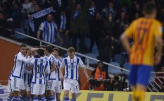 El gol de la Real Sociedad al Barza que celebró todo Madrid