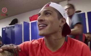 Paolo Guerrero: mira el saludo de su equipo por volver al gol