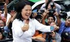 Keiko Fujimori llamó a la reconciliación tras triunfo electoral