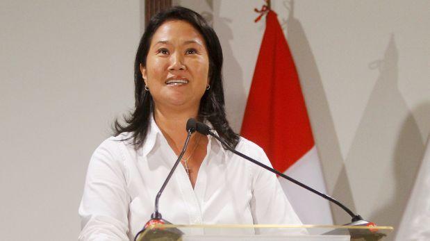 Keiko Fujimori obtuvo la mayoría de votos en 15 departamentos