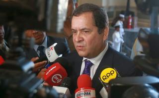 Luis Iberico lamenta críticas de Ollanta Humala al JNE