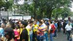 Elecciones 2016: Peruanos en Venezuela salieron en masa a votar - Noticias de gina lopez