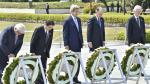 Así fue la histórica visita de John Kerry a Hiroshima [FOTOS] - Noticias de guerra corea