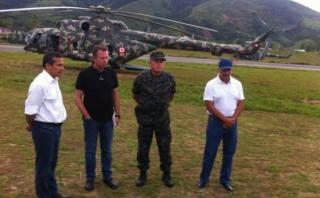 Humala: es irresponsable hablar de un avance del terrorismo