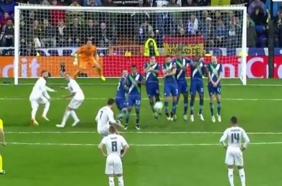 CUADROxCUADRO: gol de tiro libre decisivo de Cristiano Ronaldo