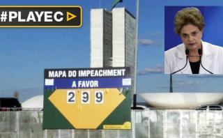 "Brasileños tendrán su propio ""muro de Berlín"" por impeachment"