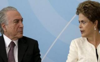 "Temer: ""Seré discreto frente a la guerra declarada por Dilma"""