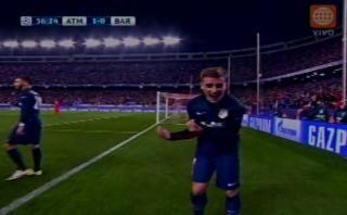 Griezmann puso en ventaja al Atlético de Madrid ante Barcelona