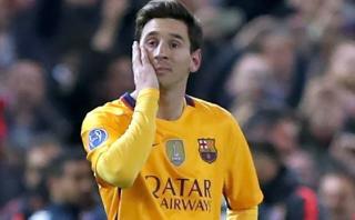 Messi y la estadística que refleja su mal momento en Barcelona