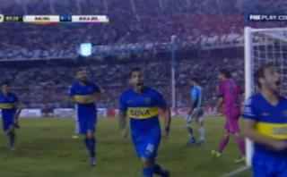 Boca Juniors: Lodeiro anotó gol del triunfo ante Racing [VIDEO]